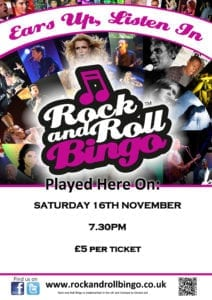 Music Bingo November 2019 @ Tiddington Cricket Club | Tiddington | England | United Kingdom