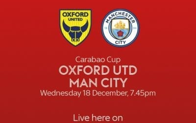 Oxford Utd vs Man City – 18.12.2019